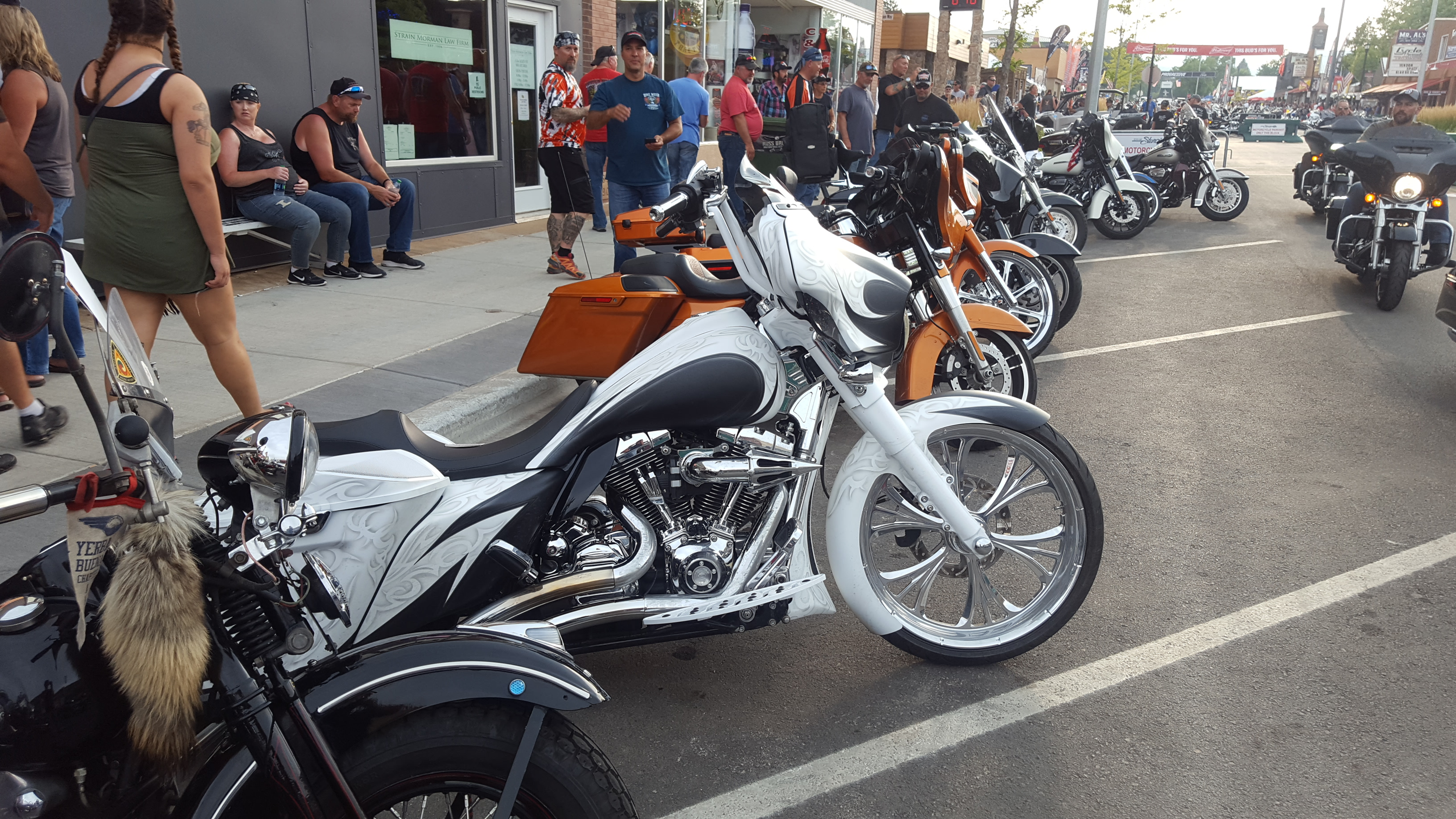 WHITE/BLACK WITH TRIBAL PATTERN – 2014 STREET GLIDE ...